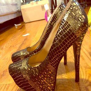 Really high heels
